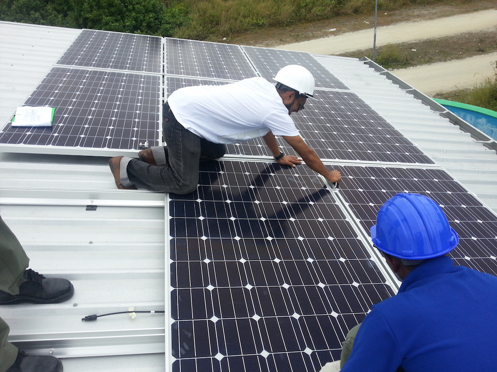 Solar Installation work